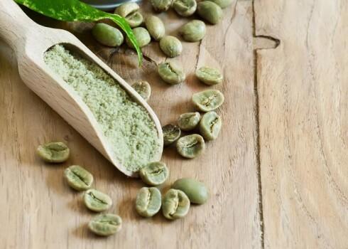 Grüner Kaffeebohnen Extrakt 10-15% Chlorogens. AZM Wasser