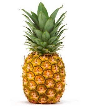 Pineapple Powder organic, 0-2 mm, freeze-dried